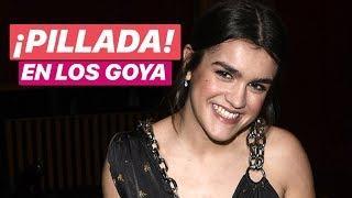 ¡PILLADA! Amaia se saltó el protocolo en LOS GOYA para hacer esto