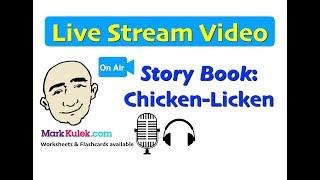 Mark Kulek Live Stream - 18 | Story Book - Chicken-Licken | English For Communication | ESL