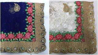 Heavy Work Sarees Design