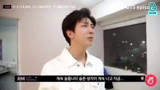 BTS llora en sesión de fotos de fake love ????