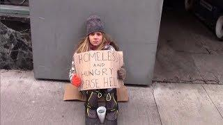 When A Homeless Girl Begged On The Streets A Passing Stranger Returned With An Offer