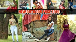 New Girl's Outdoor Photography Pose 2019 | Girl's Shootout Pose | Latest Pose For Girls