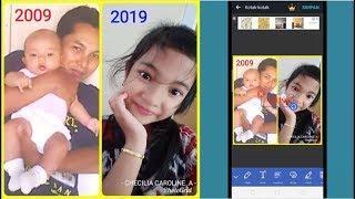 Cara buat Foto 10 Years Challenge di FB dan IG