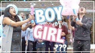 Emotional Baby Gender Reveal | Interracial Couple 混血宝宝是男是女