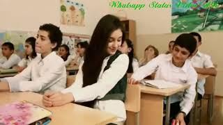 School love romantic WhatsApp status viral romantic video on new song girl hot video(5)