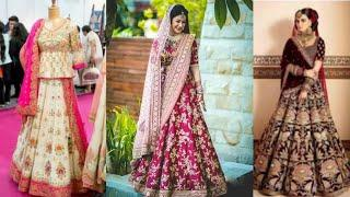 Latest Bridal Lehenga Choli Designs 2019
