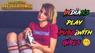 When Indians Play Pubg With Girl | Pubg Mobile India Funny Moments | Roasting Guru
