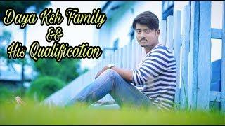Daya Kshetrimayum his Family &&& Qualification and Photo Collection for Daya