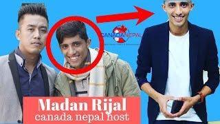 madan rijal canada nepal host family lifestyle biography interview unseen photo collection