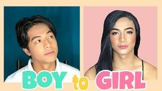 BOY to GIRL Transformation | I Did My Jowa's Make Up!?
