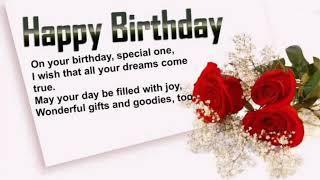 Happy Birthday Status||Happy birthday song whatsApp status - lover birthday status 03