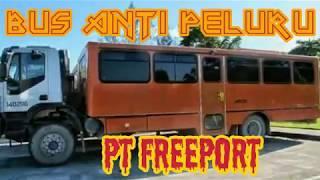 bus anti peluru milik PT Freeport