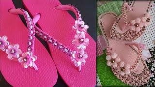 Decorative Slippers Collection 2018 || Latest Designer Slippers Images / Photo