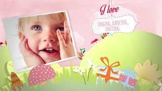 Children Memory Album And Birthday | After Effects template
