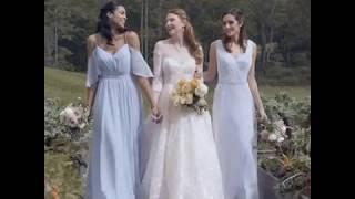 Kleinfeld Bridal features Michelle Roth Fairly 2019 collection.