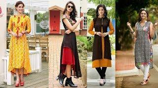 Top Beautiful Designer Kurti Designs For Girls & Women