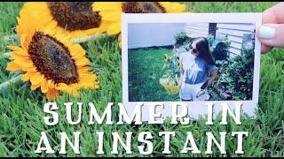 SUMMER IN AN INSTANT || Instax Wide + Mini Photo Collection