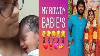Raghu Master Shares his Baby Girl Adorable Photo || Singer Pranavi and Raghu Master Daughter Photos