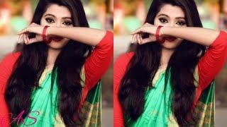 12 Simple Saree Poses Photography for Teen Girls    saree pose for girls    dslr photography saree