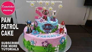 how to make paw patrol birthday cake for girls design ideas pic images bakery cake maker tutorial