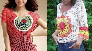 Stunning Woolen Top Design Images / Photos Collection For Girls | Beautiful Top Design Pictures