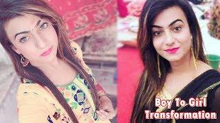 Teen Boy To Girl Transformation [Full Body] - Makeup Artist