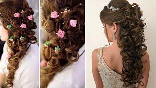 Amazing! Engagement Hairstyle | Beautiful Different Hairstyle For girls Collection | Hairstyle Photo