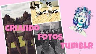 Criando fotos tumblr || Avakin life ||