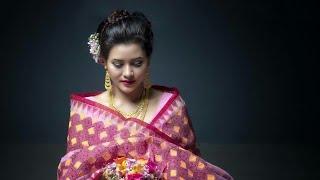 Manda Leima New Photo Collection in traditional Attire