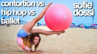 Contortion vs HipHop vs Ballet (Sofie Dossi, Matt Steffanina, Kylie Shea)