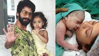 Shahid Kapoor Reached Hospital With Daughter Misha To Meet Mira Rajput And Baby Boy