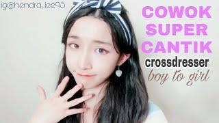 Cowok Super Cantik Part 3   crossdresser   boy to girl