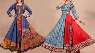 WOW !!! New Fashion Floor Length Long Kurti Design Photo / Images 2018 | Latest Long Gown Collection