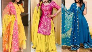 Beautiful color combination suits design!! Latest 2019 dress design images for girls and women
