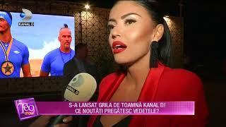 Teo Show (07.09.2018) - S-a lansat grila de toamna Kanal D! Ce noutati pregatesc vedetele? Partea 4