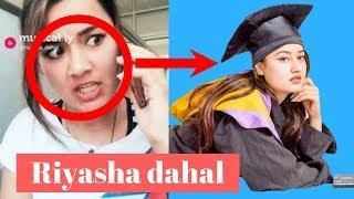 Riyasha Dahal unseen lifestyle biography family musically funny birthday photo collection