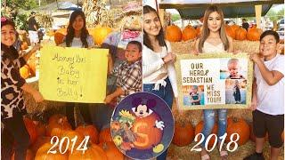 Recreating Old Photos At A Pumpkin Patch ???? | The Aguilars