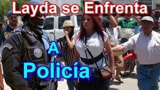 Layda Sansores Llega a Denunciar y Poly le Toma Foto Para Intimidarla
