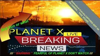 BREAKING PLANET X UPDATE'' 2 SUNS '' HUGE RED PLANET ''