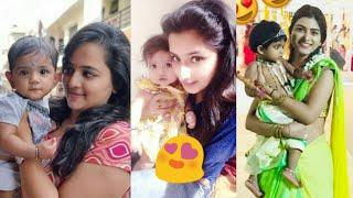 Telugu Serial Actors With Cute Baby Children's Family Real Life Latest Photos 2018