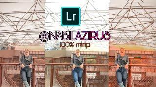 Cara edit foto seperti @nabilazirus | | android | |TUTORIAL LIGHROOM MOBILE