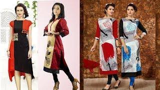 Stylish Long  Kurti Designs || kurti Design Photo Collection 2018