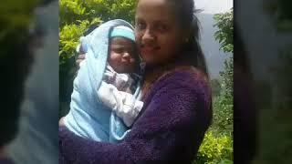 Cute baby boy photo collection video