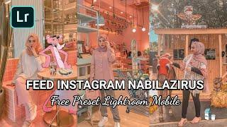 TUTORIAL EDIT FOTO  @nabilazirus SELEBGRAM || LIGHTROOM MOBILE TUTORIAL