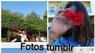 Tentando tirar fotos tumblr.