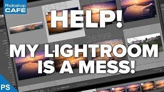 how to ORGANIZE your LIGHTROOM PHOTO collection!