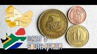 Coin collection |West & South Africa | 3 Coins (Francs & Cent) from 1961