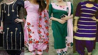 Different Design Of Punjabi Suit | Salwar Suit Design Photo | Boutique Style Salwar Suit Design 2019