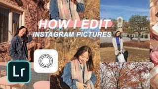 ????how I edit my Instagram pictures! (Warm + Peachy Tones) ????