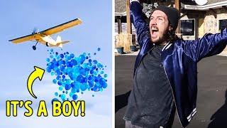 BOY OR GIRL? CREATIVE AND EMOTIONAL GENDER REVEALS COMPILATION
